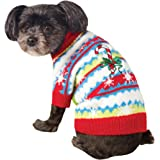 Rubies Costume Ugly Sweater with Candy Cane