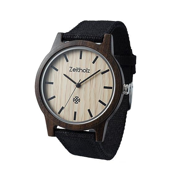 Reloj de madera ZEITHOLZ – Reinsberg - 100% de Madera de Sándalo - Producto Natural
