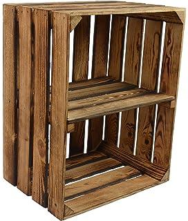 weinkiste holz deko cheap x weinkiste holz er kiste deko wein shabby chateau regal with. Black Bedroom Furniture Sets. Home Design Ideas