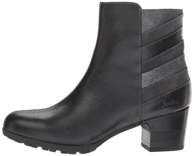 Jambu Women's Amal Water Resistant Ankle Bootie B01N17S1CR 6 B(M) US|Black/Multi