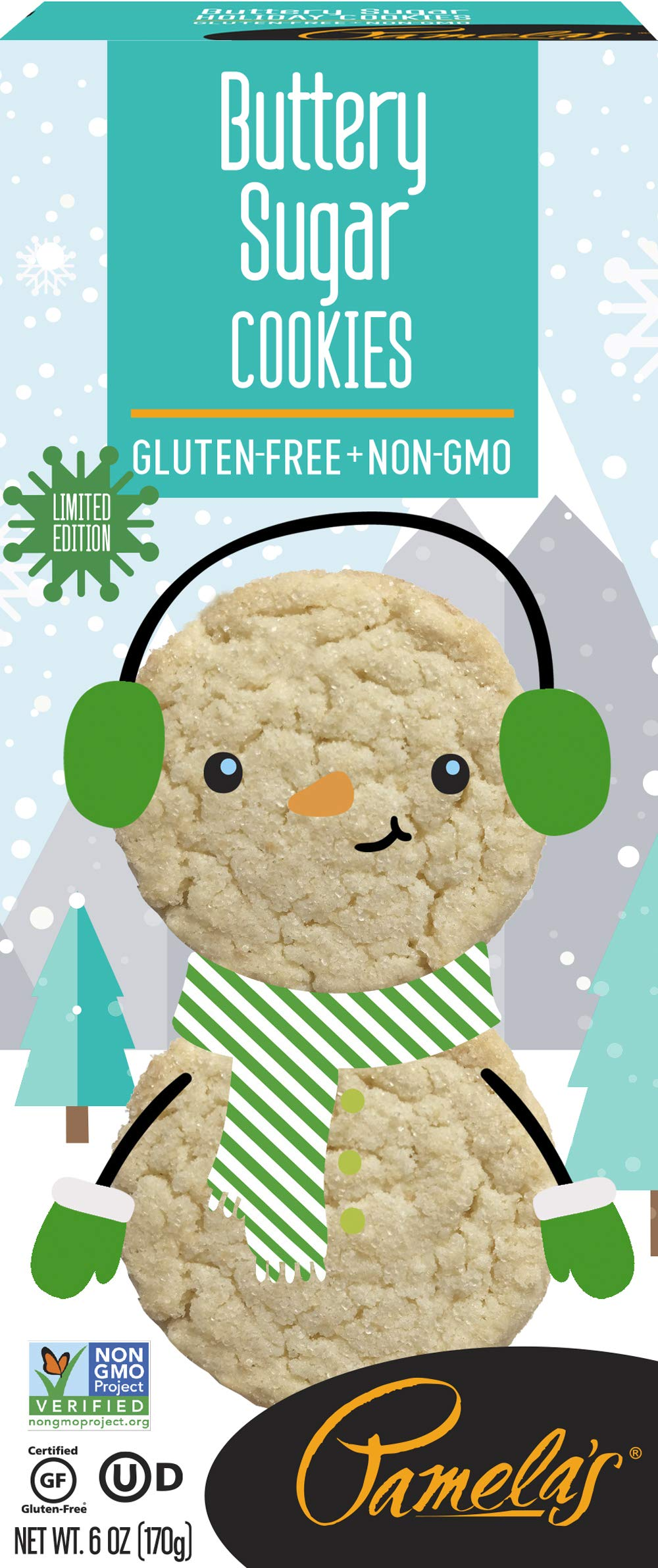 Pamela's Gluten-Free Cookies, 6 OZ