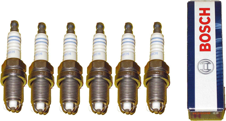 Amazon Com For Bmw E34 525i 91 93 M50 Spark Plug 6 Plugs Oem Bosch Automotive