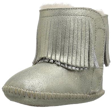 117bf56ab11 UGG Kids I Branyon Fringe Metallic Boot