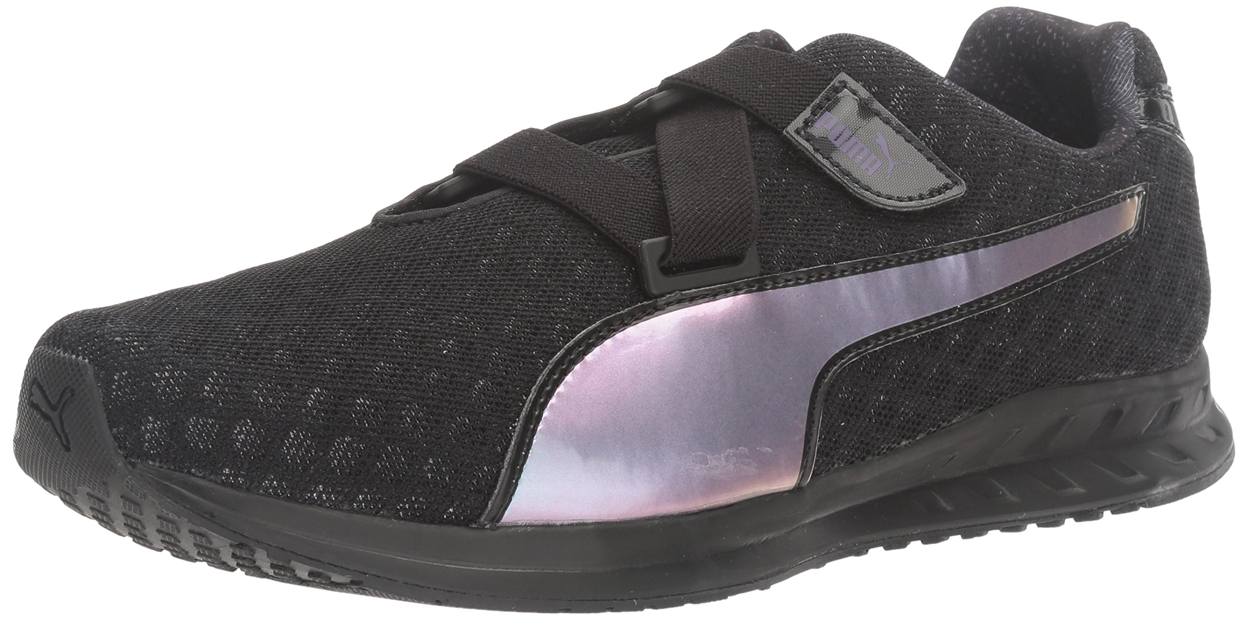 PUMA Women's Burst Alt Pearl Wn's Cross-Trainer Shoe, Black-Royal Purple, 6.5 M US