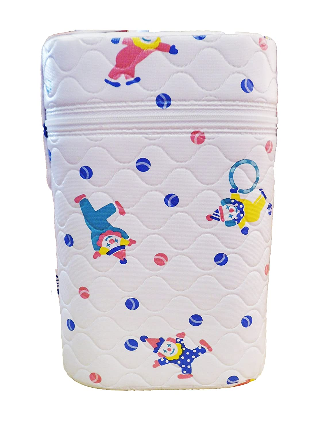 Insulated Bottle Holder - Twin/Double Insulator Clowns Design BABY best BUYS Print-Boy Clowns