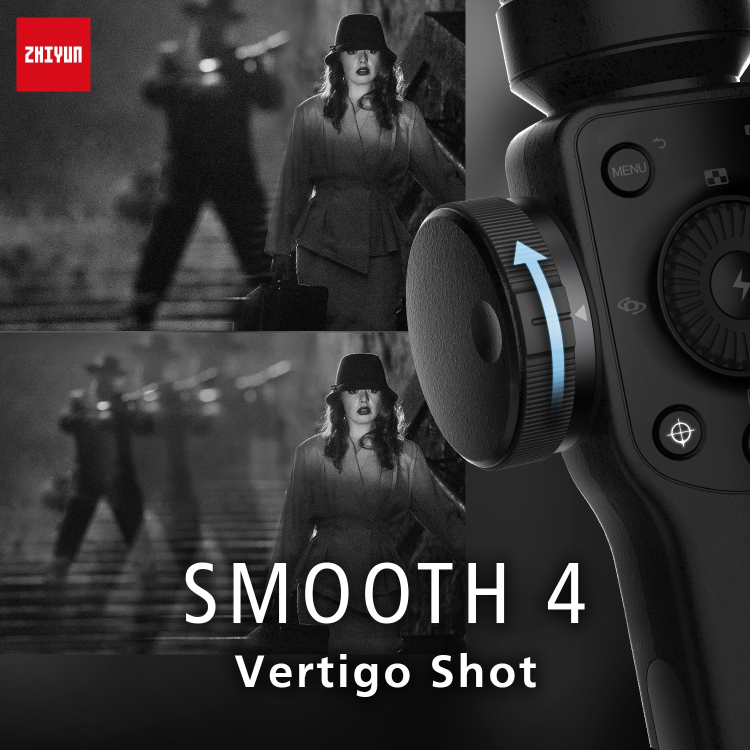 Zhiyun Smooth 4 3-Axis Handheld Gimbal Stabilizer - Unboxed