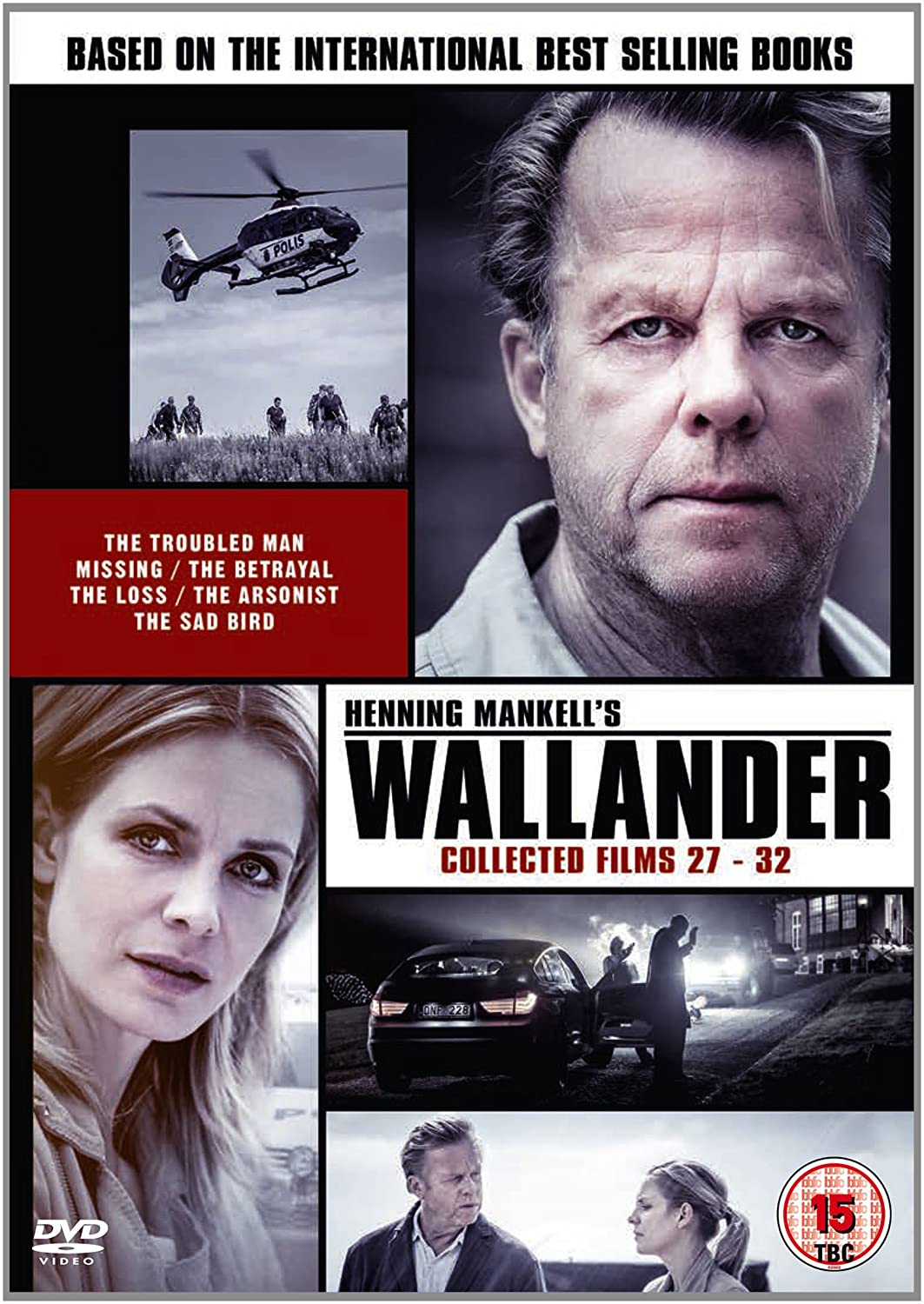 Wallander: Collected Films 27-32 (The Final Season)
