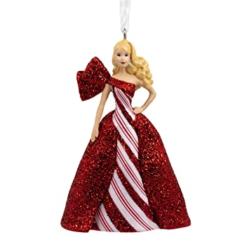 Hallmark Christmas Ornaments 2019.Hallmark Christmas Ornaments 2019 Year Dated Mattel Holiday Barbie Ornament