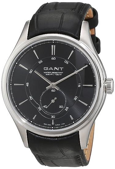 GANT Reloj de pulsera hombre branford analógico de cuarzo piel w70671: Amazon.es: Relojes
