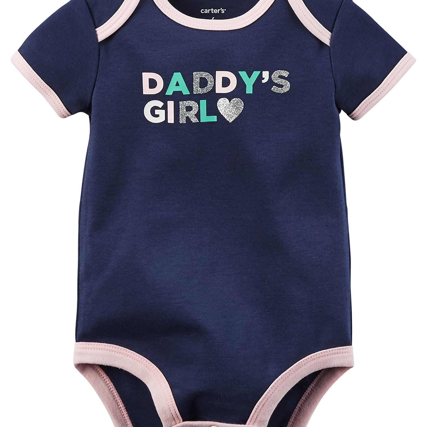 Carter/'s NWT 12M 18M Infant Girl 3Pc DADDY/'S GIRL Bodysuit Pant Set $22