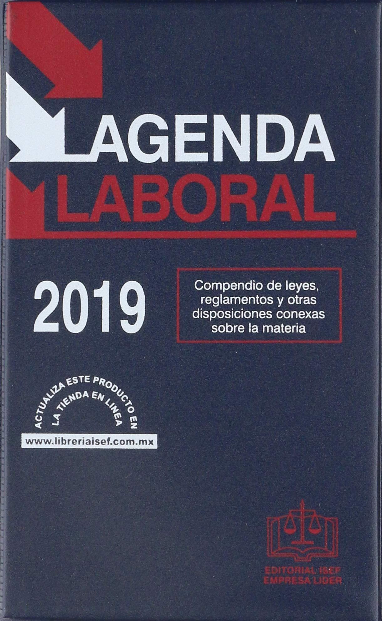 AGENDA LABORAL 2019: EDICIONES FISCALES ISEF: 9786075410616 ...