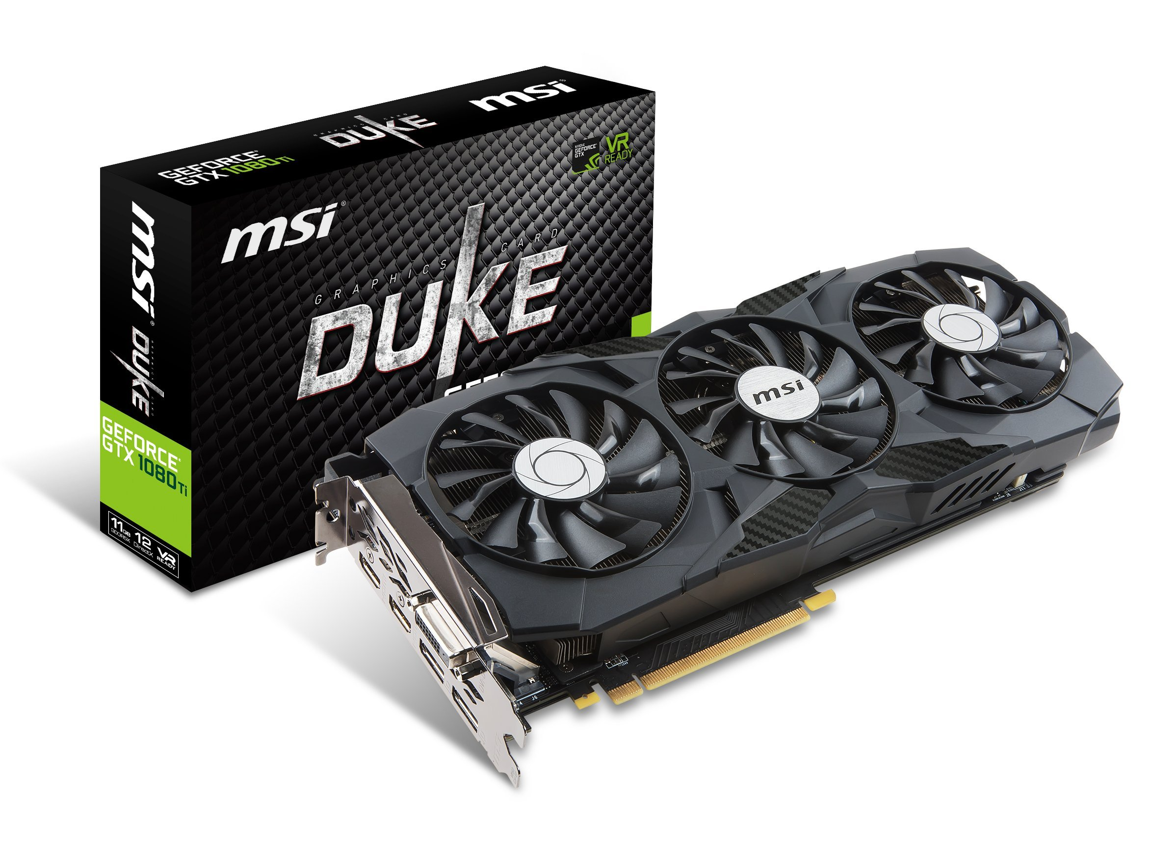 MSI GTX 1080 TI DUKE 11G OC Graphic Cards by MSI