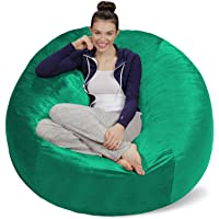 Amazon Price History for:Sofa Sack - Plush Ultra Soft Bean Bags Chairs for Kids, Teens, Adults - Memory Foam Beanless Bag Chair with Microsuede…