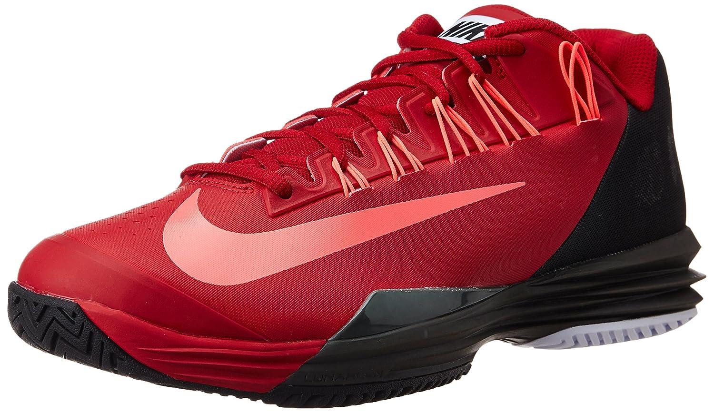 Consulta nariz Otoño  Buy Nike Men's Lunar Ballistec Gym Red, Hyper Punch, Medium Ash Tennis  Shoes -6 UK/India (40 EU)(7 US) at Amazon.in
