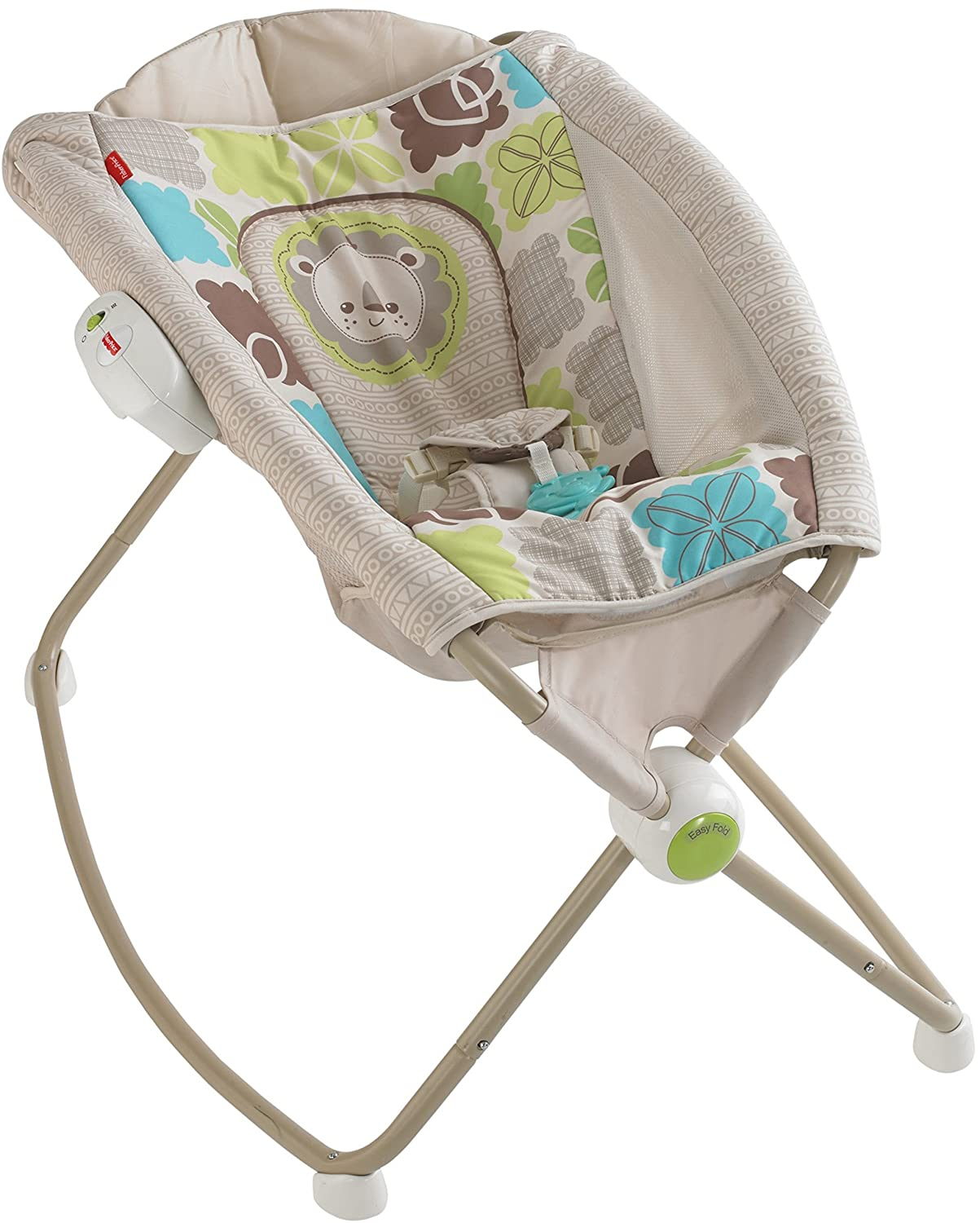 Fisher Price Rock n Play Sleeper Rainforest Friends baby Toddler Rocker Napper