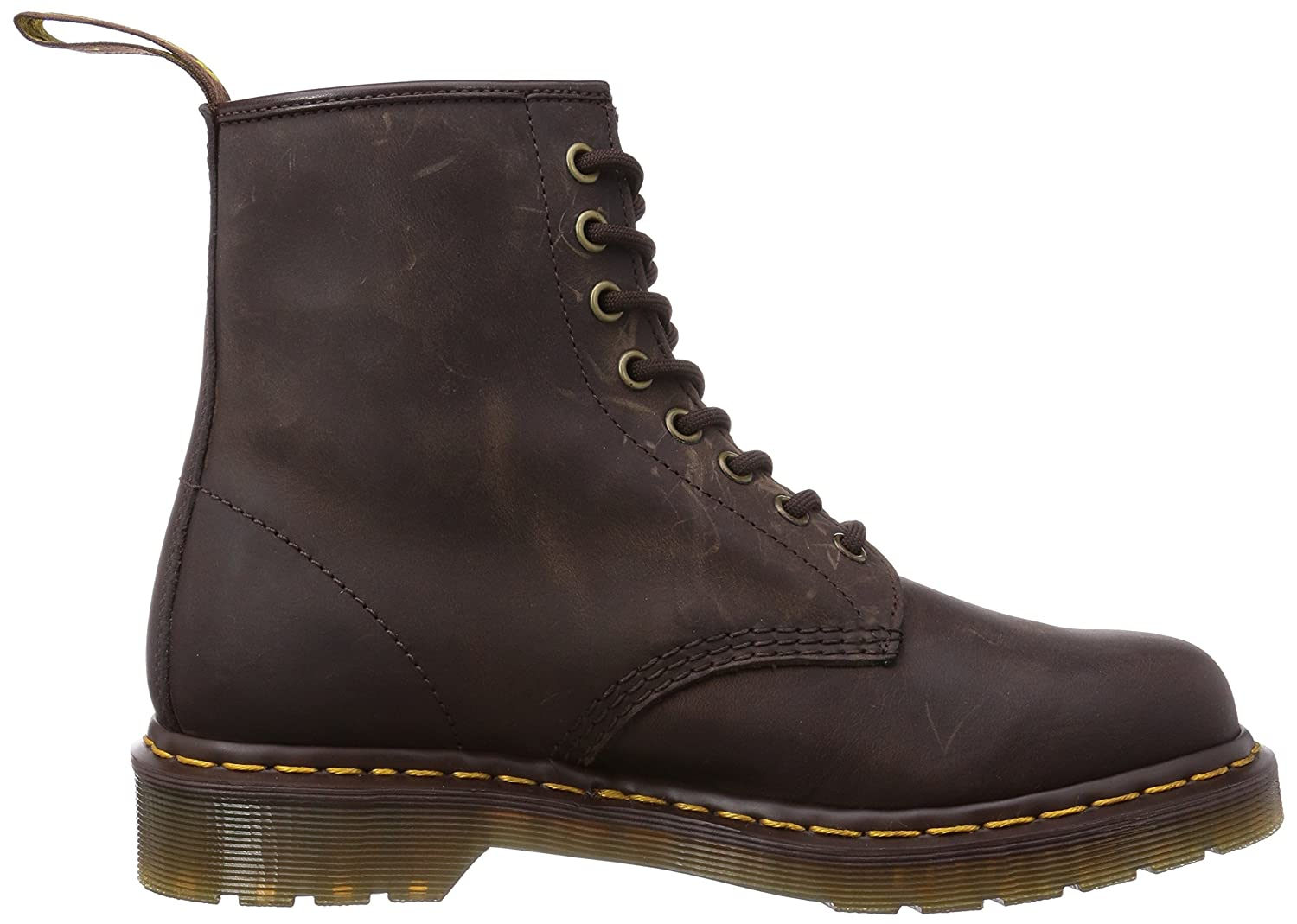 Dr. Martens Men's 1460 Combat Boot, 8.5 B(M) US Women/7.5 D(M) US Men B001N1J53S 9 M UK (10 US)|Gaucho Crazy Horse