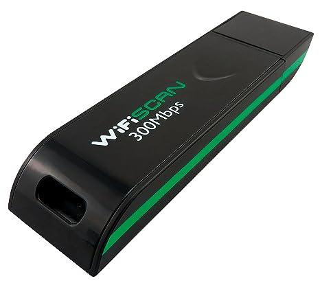 WiFiSCAN WS10300RT Adaptador y Tarjeta de Red WLAN 300 Mbit/s ...