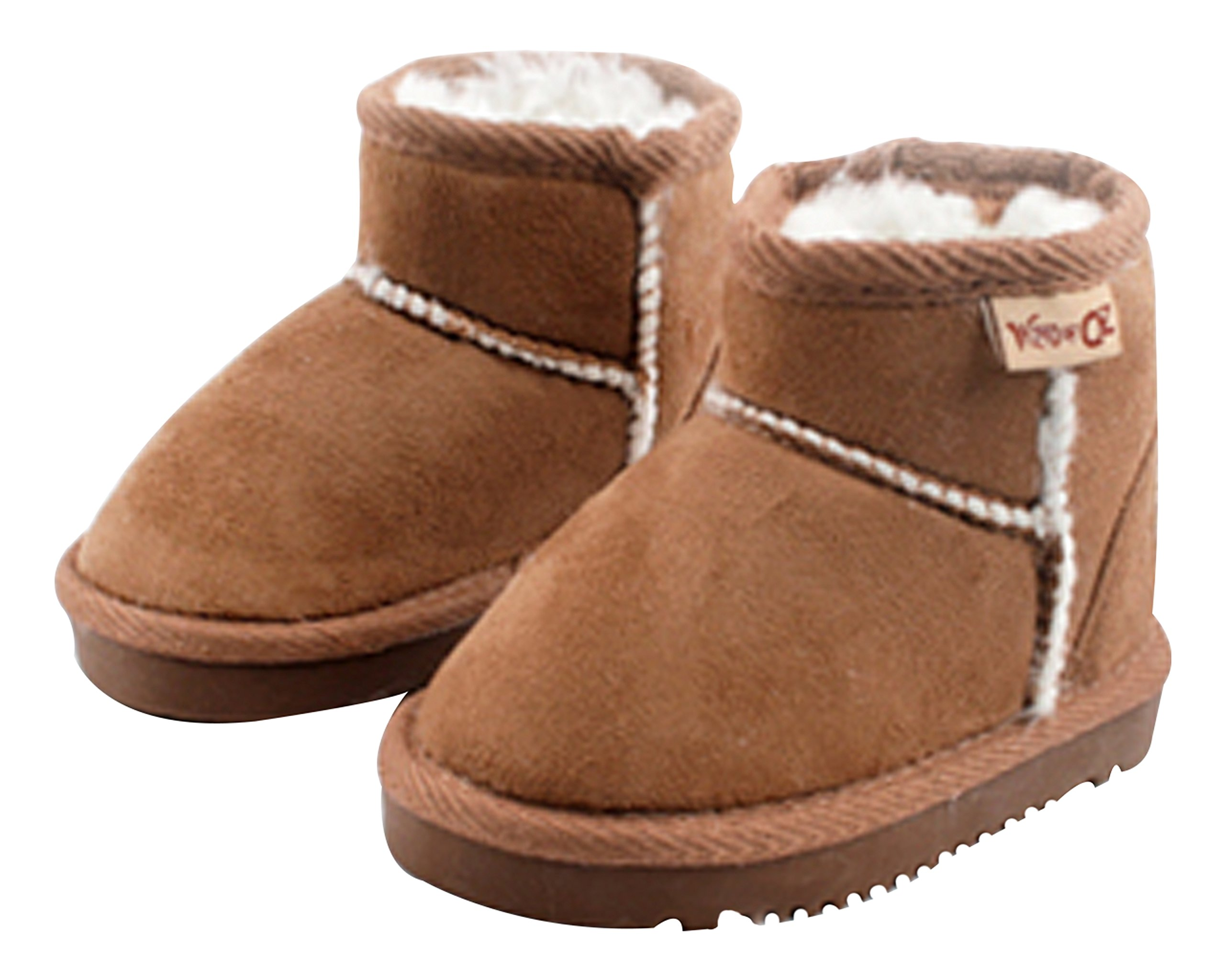 Ozkiz Boys Girls oz Mini Boots Little Kid/Toddler Brown Size 1M
