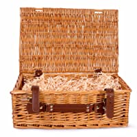 Basic House Ltd Premium Wicker Picnic Hamper Hampers Shop Retail Display Home Decoration