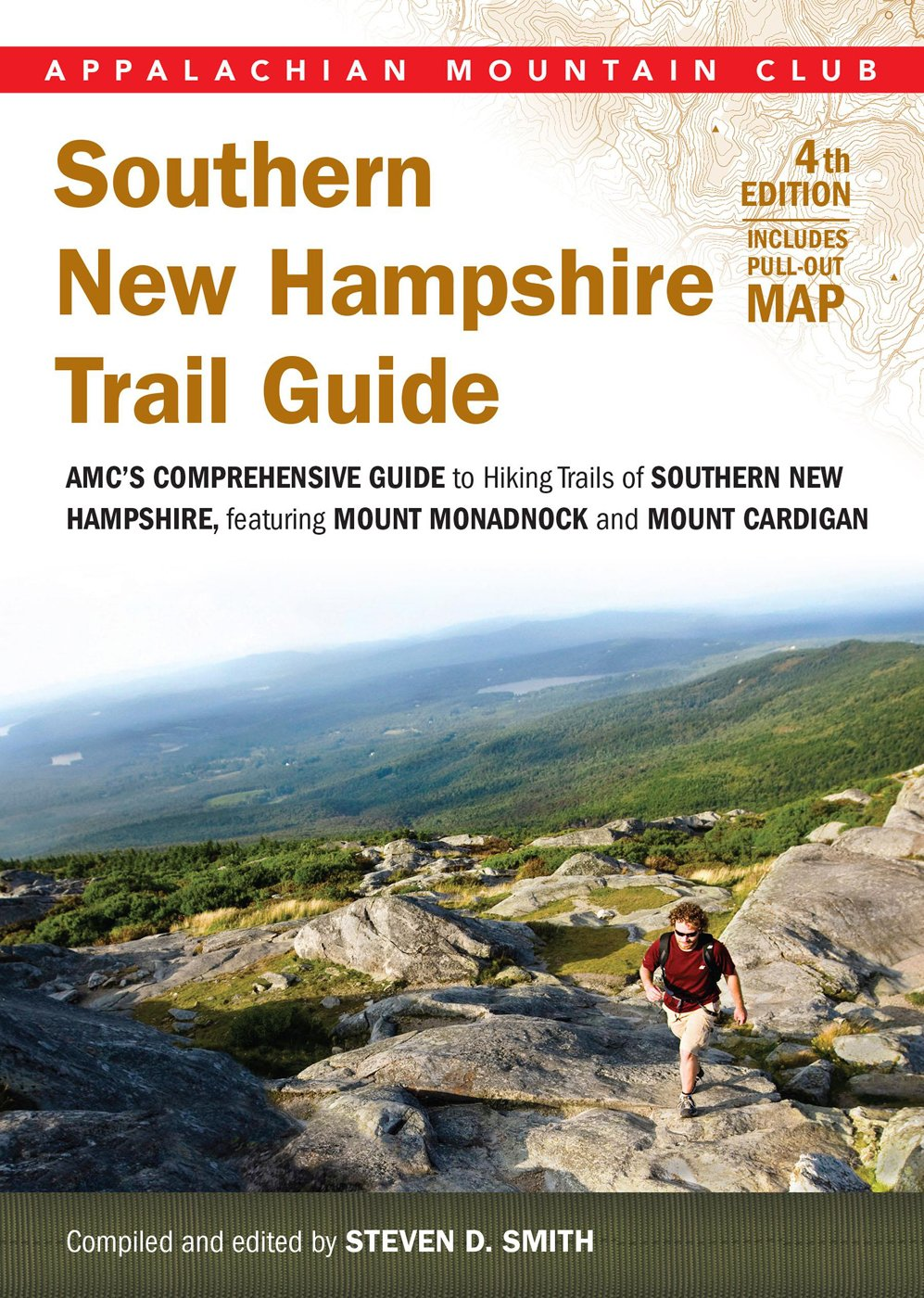 new hampshire hiking maps Southern New Hampshire Trail Guide Amc S Comprehensive Guide To new hampshire hiking maps