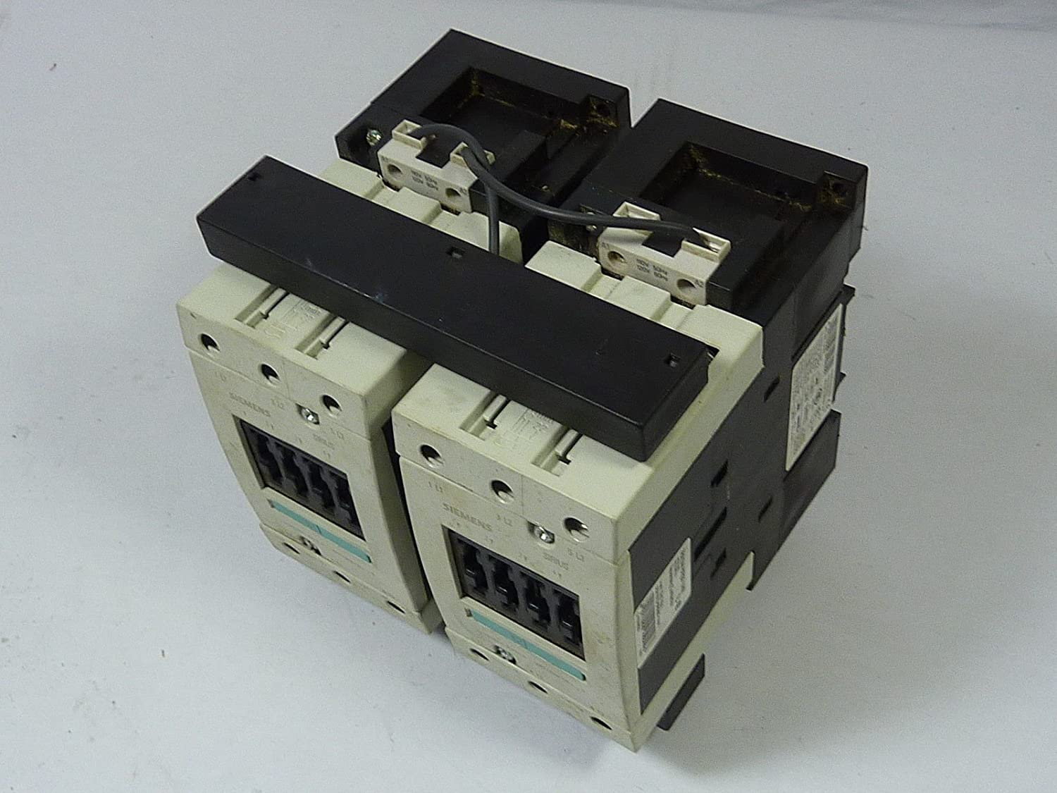 Fully Wired and Tested 24 V AC Operation S3 Size Siemens 3RA13 44-8XB30-1AC2 Motor Contactor Assembly 65A Maximum Inductive Current 50//60 Hz Rated Control Supply Voltage 3RA13448XB301AC2