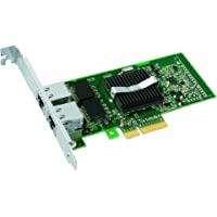 Intel PRO/1000 PT Dual Port Server Adapter Adaptateur réseau PCI Express x4 Ethernet, Fast Ethernet, Gigabit Ethernet 10Base-T, 100Base-TX, 1000Base-T 2 ports