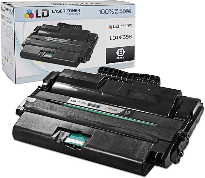 LD Compatible Toner Cartridge Replacement for Dell 1815dn 310-7945 High Yield (Black)