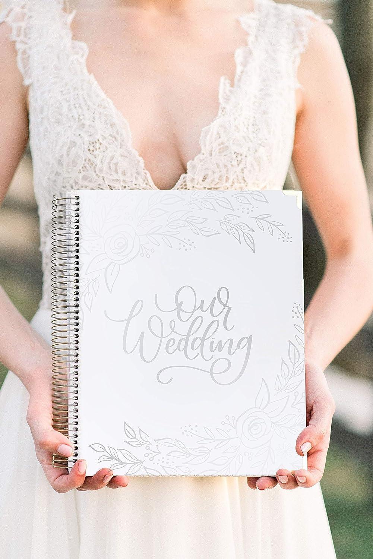 Amazon.com: Bloom Daily Planners - Planificador de boda sin ...