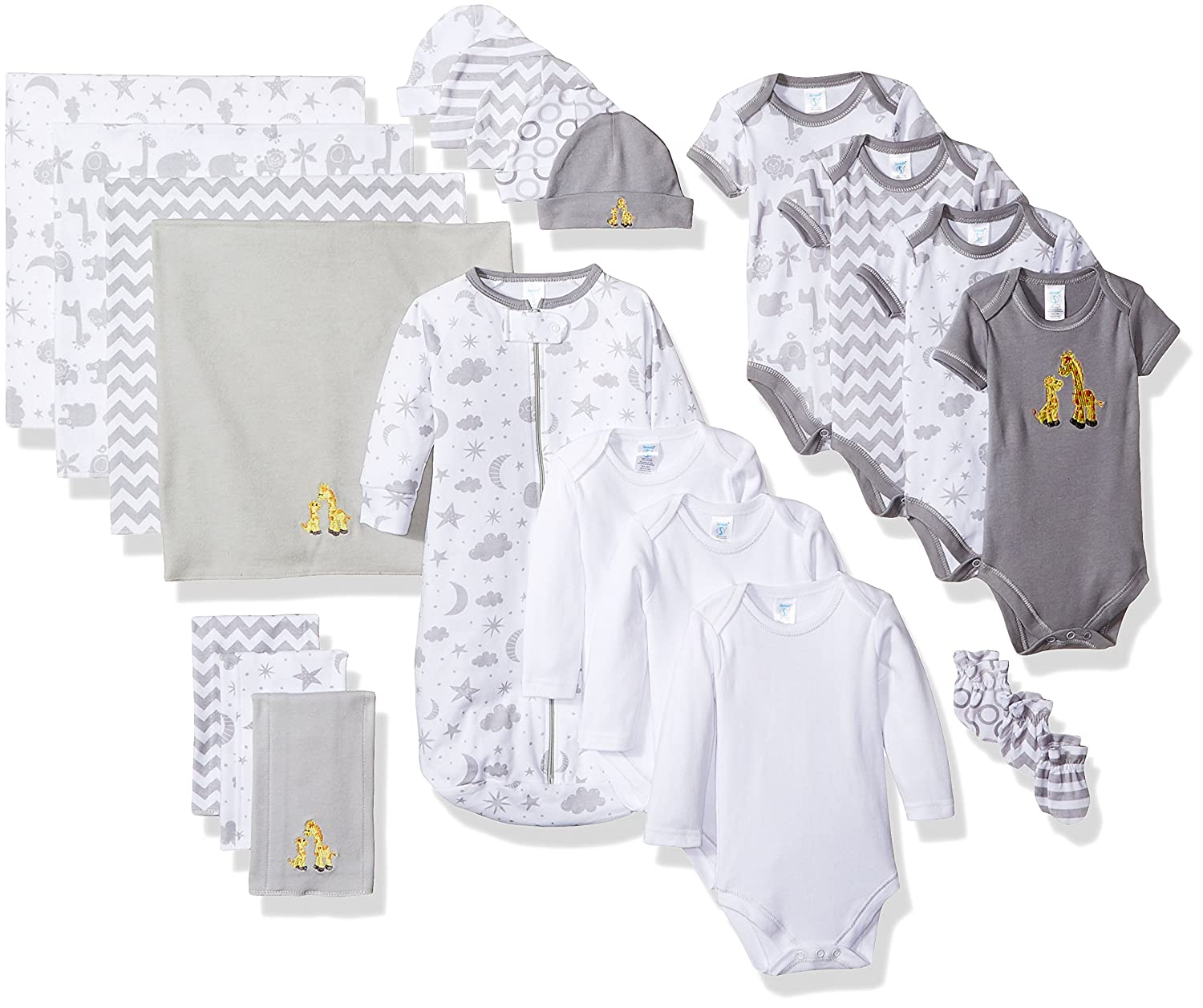 Spasik 23 Piece Baby Essential Layette Gift Set