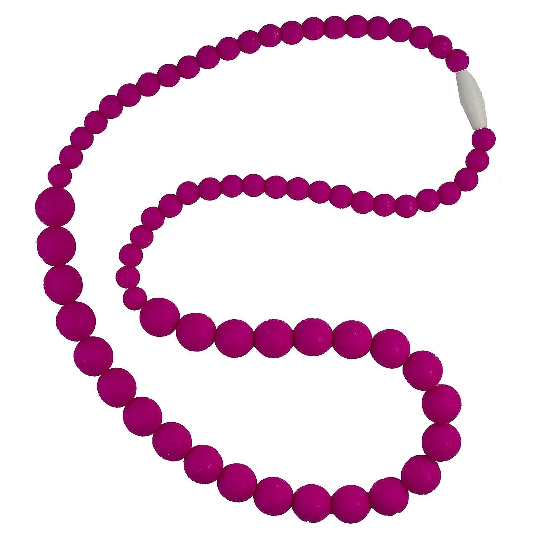 大割引 Funky 100% Silicone Teething Necklace for Mom to Wear free - and Color Crimson - Our teething beads are made from 100% food grade silicone and are free of heavy metals, PVC and BPA free. by Bambeado B01IEHBIRO, カナザワク:1c7c2c64 --- a0267596.xsph.ru