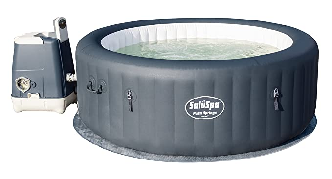 Best Inflatable Hot Tub: SaluSpa Palm Springs HydroJet