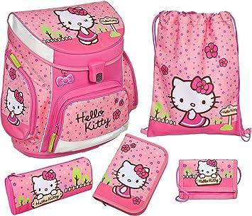 992eba220 Scooli Campus SchoolBag Set, 5 Piece Hello Kitty Hello Kitty Hkyx:  Amazon.co.uk: Office Products
