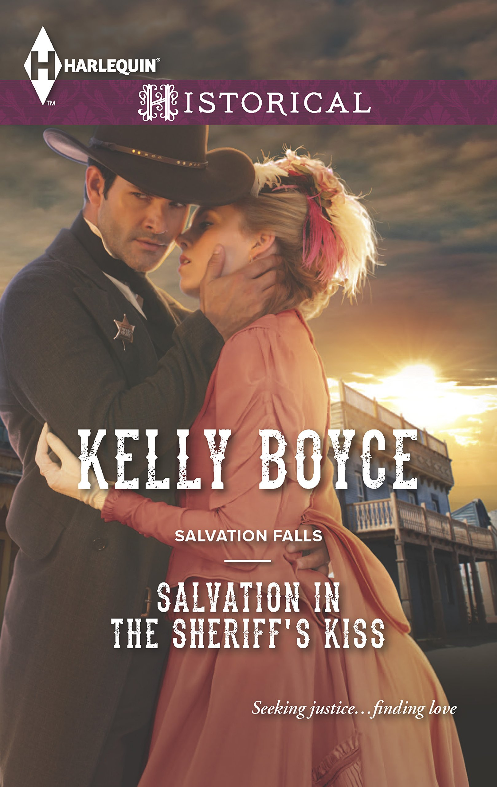 Download Salvation in the Sheriff's Kiss pdf epub