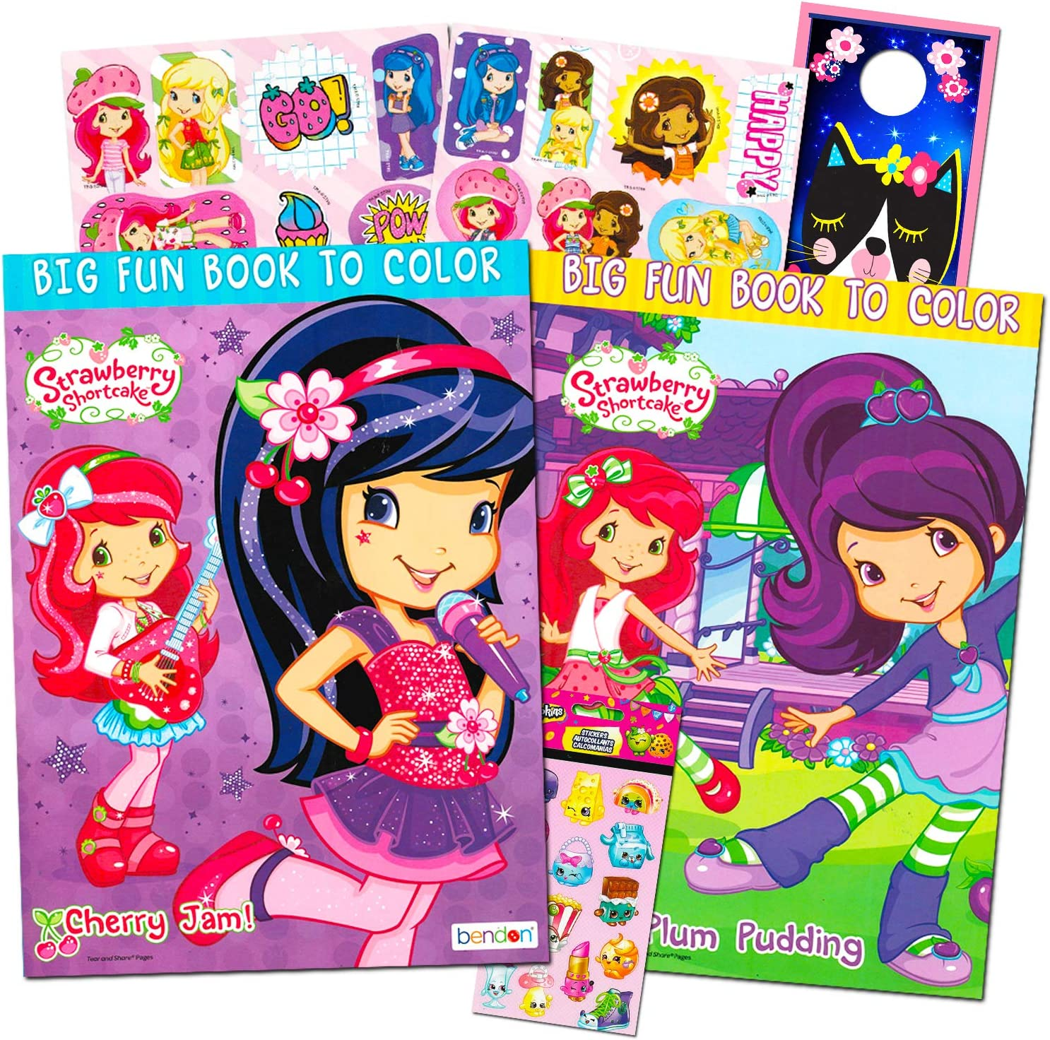- Amazon.com: Strawberry Shortcake Coloring Book Super Set -- 2