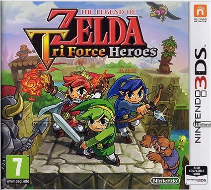 The Legend of Zelda Tri Force Heroes - Nintendo 3DS [Importación ...