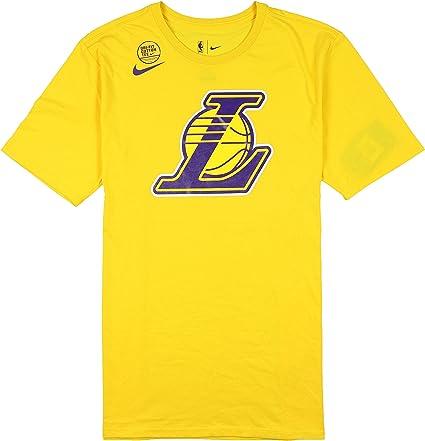 Amazon.com: Nike Men s Los Angeles Lakers equipo logotipo ...