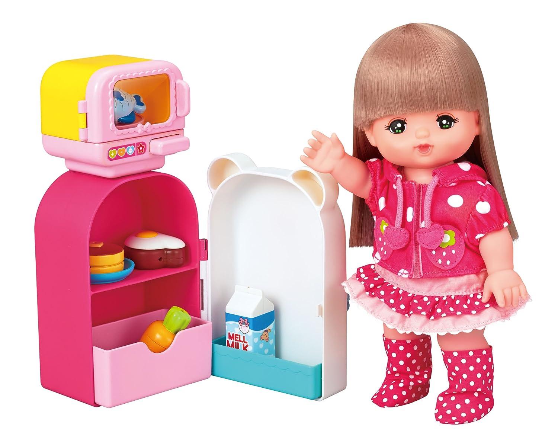 ぽぽちゃんのお買いものベビーカー カゴ&お世話テーブルつき ラズベリーピンク