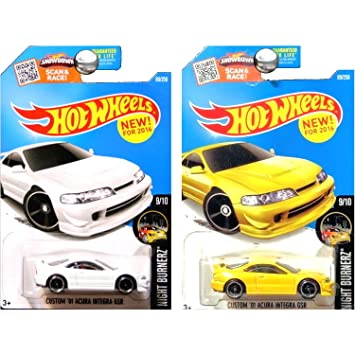 Amazon.com: Hot Wheels 2016 Night Burnerz Custom 2001 Acura Integra on 2008 mitsubishi lancer evolution gsr, acura 3.2tl, acura suv, acura vigor, acura rsx, acura nsx, acura cl, stanced acura gsr, mitsubishi eclipse gsr, acura 2.2cl, acura el, acura rims, acura tsx, acura gsx, honda gsr, acura tl, acura mdx, mitsubishi evo gsr, acura legend,