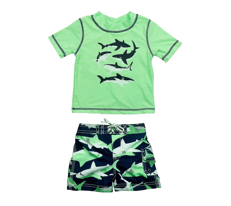 Carter's Baby Boys' Shark Rashguard Set SC17689-BT