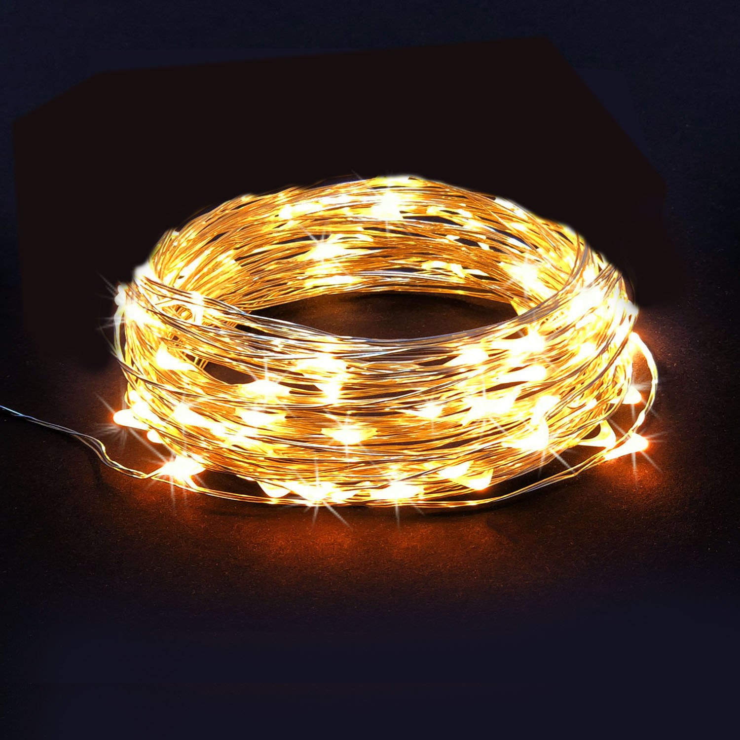 Amazon RTGS 30 LEDs String Lights Batteries Operated on 10
