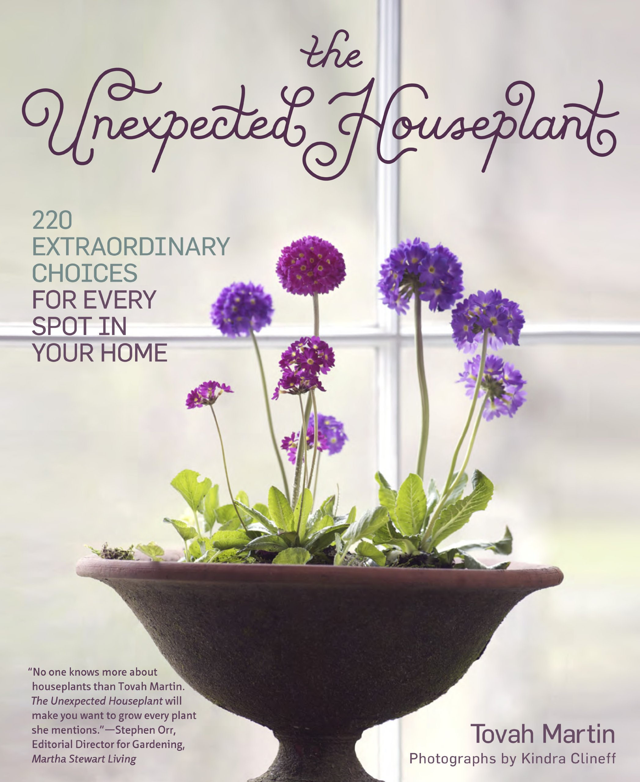 amazoncom the unexpected houseplant 220 choices for every spot in your home tovah martin books