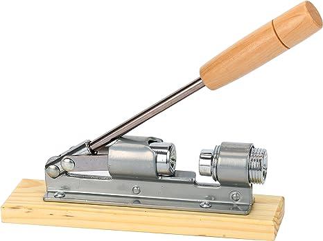 Desktop Walnut or Pecan Heavy Duty Pecan Nut Cracker with Wood Base /& Handle