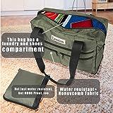 Leesion Duffel Bag Folding Travel Bag for Men and