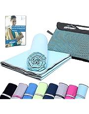 Mikrofaser Handtuch Set - Microfaser Handtücher für Sauna, Fitness, Sport   Strandtuch, Sporthandtuch