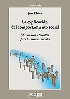 La Explicación Del Comportamiento Social: Más