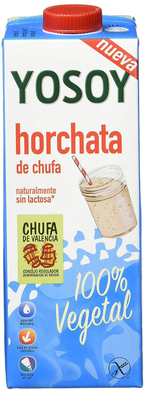 YOSOY HORCHATA 1L - Caja de 6x1000ml - Total 6000ml: Amazon.es: Alimentación y bebidas