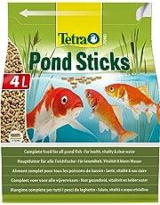 TETRA Pond Sticks - Aliment Complet en sticks pour Poisson de Bassin - 4L