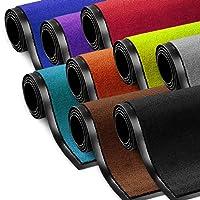 etm Dirt Trapper Entrance Mat | Non Slip | Many Sizes & Colours Available | Black - 60x90cm