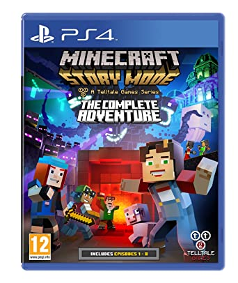 Minecraft Story Mode Complete Adventure (PS4): Amazon co uk: PC