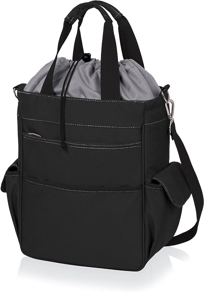 Black a Picnic Time brand San Francisco 49ers ONIVA Tahoe XL Cooler Tote Bag,
